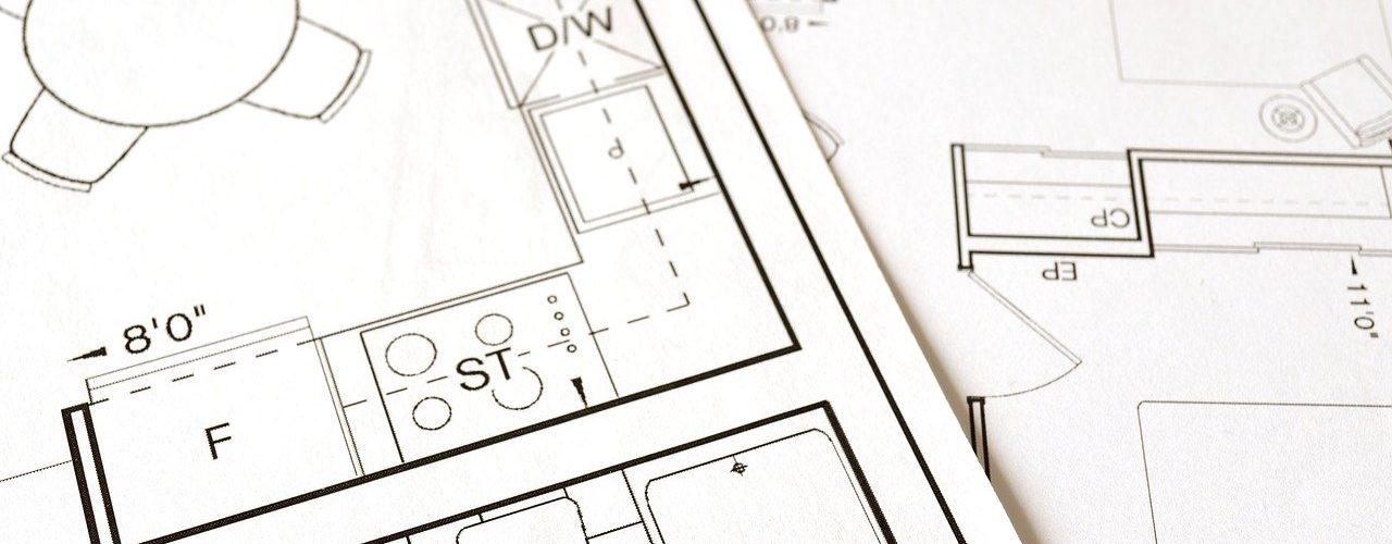 Floor Plan Blueprint House Home